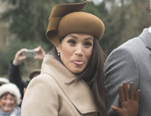 """Меган Маркл осудили за """"не королевское поведение"""": невеста принца Гарри показала журналистам язык"""
