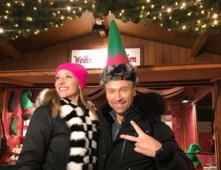 Стоит посмотреть: рождественские приключения Олега Винника и Кати Осадчей в Берлине (ВИДЕО)