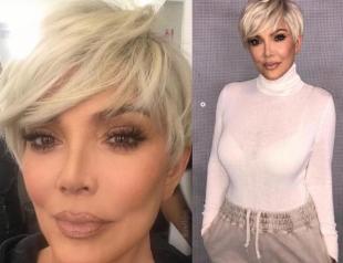 Как старшая сестра: 62-летняя мама Ким Кардашьян стала платиновой блондинкой и очень помолодела
