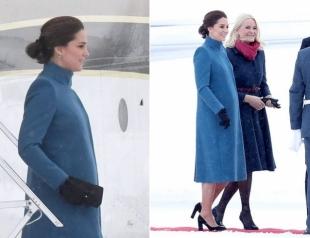 В снегопад в туфлях: беременную Кейт Миддлтон раскритиковали за легкомыслие в одежде
