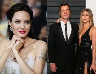 Чтобы насолить Энистон, Анджелина Джоли хочет поработать с Джастином Теру