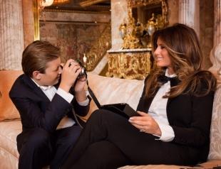 На фоне слухов об изменах мужа Мелания Трамп решила сконцентрироваться на воспитании сына