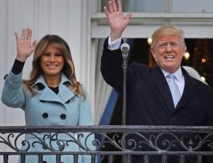 Счастливые Мелания и Дональд Трамп покорили всех на пасхальном приеме в Белом доме (ФОТО+ВИДЕО)