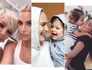 Как звезды отметили День матери: Ким Кардашьян, Анна Седокова, Дженнифер Лопес, Ани Лорак и другие