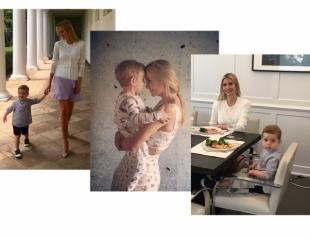 Иванку Трамп раскритиковали в Сети после публикации умилительного фото с сыном Теодором