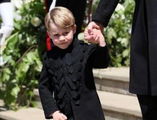Принц Джордж потерпел от хулиганства троюродной сестры (ВИДЕО)