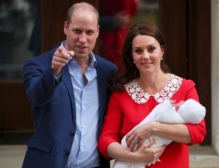 Ставки букмекеров: кто станет крестным родителем младшего сына принца Уильяма и Кейт Миддлтон