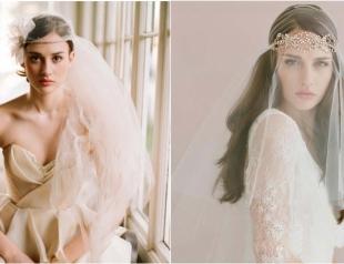 Идеальная невеста: подбираем свадебный головной убор