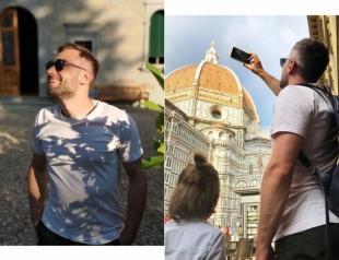 Дмитрий Шепелев и Платон наслаждаются итальянским отдыхом (ФОТО)