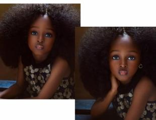 """В Нигерии нашли """"самую красивую в мире девочку"""" (ФОТО)"""