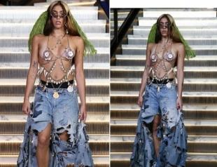 Дочь Мадонны стала моделью, приняв участие в эпатажном шоу Gyspy Sport