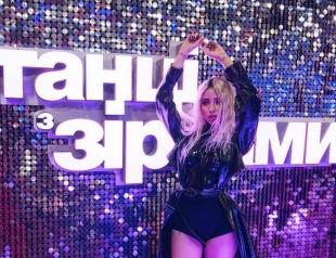 "Возвращение года: Надя Дорофеева на шоу ""Танці з зірками"" стала блондинкой и станцевала с MONATIK  (ФОТО)"