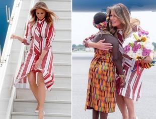 Африканский тур Мелании Трамп: первая леди США посетила Гану (ФОТО+ВИДЕО)