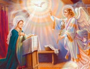 Сегодня – Благовещение Пресвятой Богородицы
