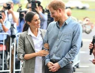 Принц Гарри и Меган Маркл прошли мастер-класс по родам в Австралии (ФОТО)