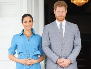 Принц Гарри стал автором нежного снимка беременной Меган Маркл (ФОТО)