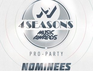 """Номинация PRO-PARTY """"M1 Music Awards. 4 Seasons"""": кто может получить главную награду?"""