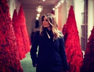 Как Мелания Трамп подготовилась к Рождеству: декор Белого дома (ВИДЕО)