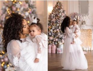 Гайтана показала красавицу-дочку в милой новогодней фотосессии (ФОТО)