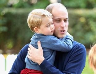Стало известно, как принц Джордж нежно называет своего папу