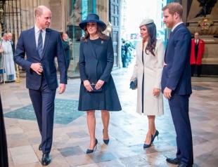 Инсайдер: Меган Маркл стала причиной раздора между принцами Уильямом и Гарри