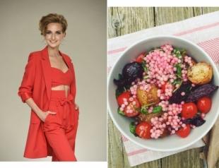 """Постный салат с кус-кусом: вкусный рецепт от ведущей шоу """"Зважені та щасливі"""""""