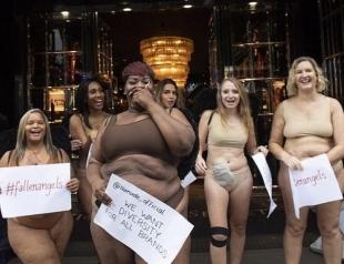 В Лондоне женщины вышли на улицы в нижнем белье: почему протестуют британки