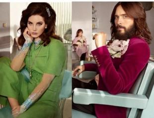 Джаред Лето и Лана Дель Рей стали влюбленной парой в рекламе нового аромата Gucci (ВИДЕО)