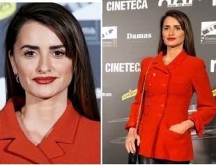 В пиджаке от Chanel и кожаных брюках: Пенелопа Крус на премии в Мадриде (ФОТО+ГОЛОСОВАНИЕ)