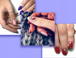 Маникюр negative space: полупрозрачный дизайн ногтей