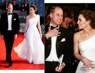 Кейт Миддлтон и принц Уильям посетили премию BAFTA-2019 (ФОТО+ВИДЕО)