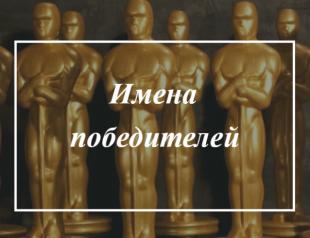 """Киноакадемия подвела итоги года: полный список победителей """"Оскара-2019"""""""