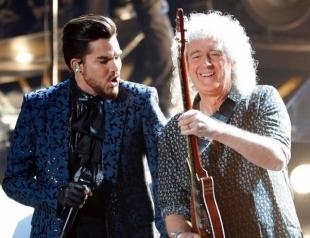 """Адам Ламберт и группа Queen феерично открыли церемонию """"Оскар — 2019"""" (ВИДЕО)"""