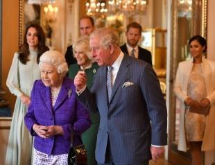 В Букингемском дворце состоялся прием: новые фото членов королевской семьи