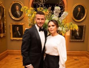 Дэвид и Виктория Бекхэм не скрывали чувств на гала-вечере в Лондоне (ФОТО)