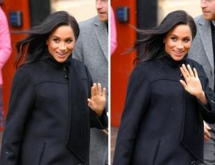 Меган Маркл отказывается фотографироваться с первенцем у входа в роддом