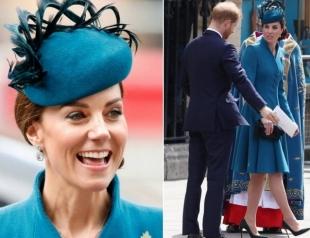 Кейт Миддлтон и принц Гарри посетили службу в Вестминстерском аббатстве (ФОТО+ВИДЕО)