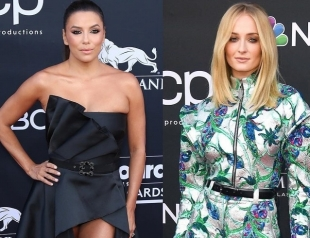 Ева Лонгория, Софи Тернер и другие: самые яркие образы звезд на красной дорожке Billboard Music Awards 2019