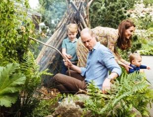 В Сети появились новые красивые фото подросших детей Кейт Миддлтон и принца Уильяма