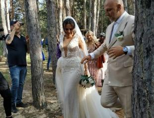 Эксклюзивное видео со свадьбы Потапа и Насти Каменских: это очень трогательно!