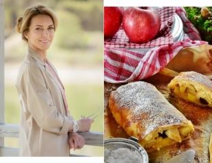 Похудение — не повод отказываться от десерта: рецепт полезного штруделя от Марины Боржемской