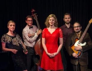 Британско-итальянский квинтет Hetty & the Jazzato Band впервые выступит в Украине