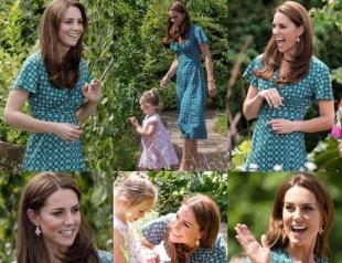 Кейт Миддлтон провела пикник для детей в саду Back to Nature, который сама проектировала (ФОТО)