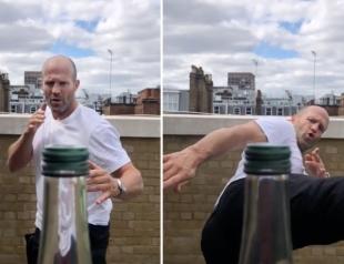 #BottleCapChallenge: звезды демонстрируют удары и ловкость, открывая бутылку с ноги (ВИДЕО)