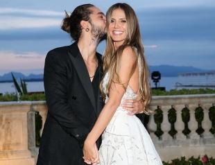 СМИ: Хайди Клум тайно вышла замуж за Тома Каулитца