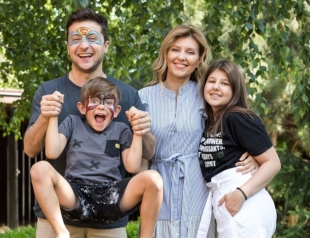 Как первая пара Украины поздравила дочь с 15-летием?