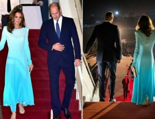 Кейт Миддлтон и принц Уильям начали 4-дневный тур: визит в Пакистан (ФОТО и ВИДЕО)