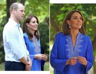 Герцоги Кембриджские посетили школу для девочек в Исламабаде (ФОТО+ВИДЕО)