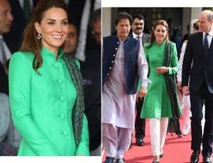 Кейт Миддлтон и принц Уильям провели встречу с первыми лицами Пакистана