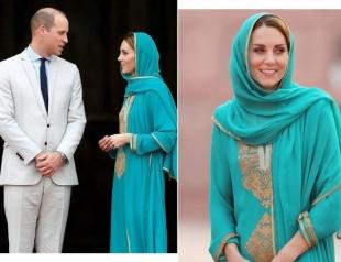 Кейт и Уильям посетили мечеть в Лахоре: герцогиня принимает комплименты